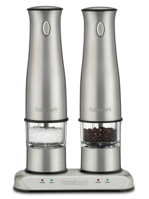 Cuisinart Stainless Steel Rechargeable Electric Salt