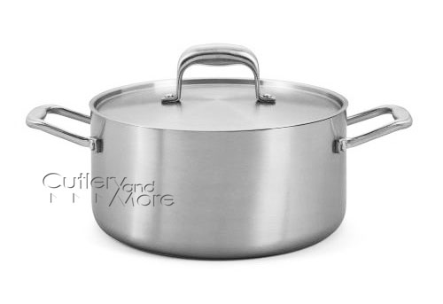 Usa Made Tri Ply Stainless Steel Stock Pot 6 Quart