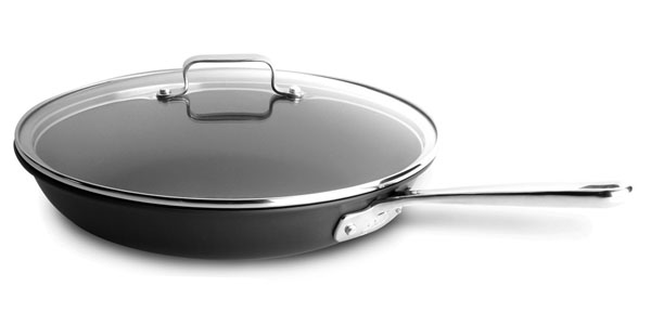 Emerilware Hard Anodized Skillet With Lid 12 Inch