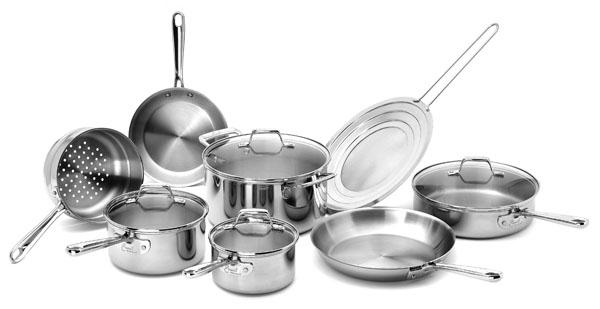 Emerilware Pro Clad Stainless Steel Premier Cookware Set
