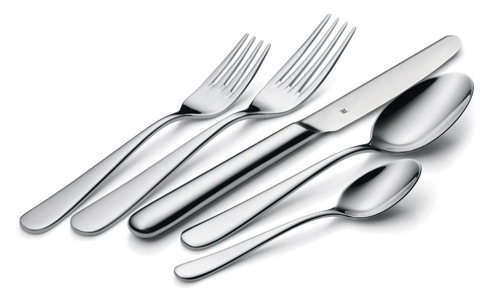 Wmf carlton stainless steel flatware set 20 piece Best brand of silverware