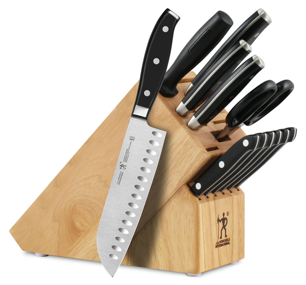 Henckels International Forged Premio Knife Block Set 13