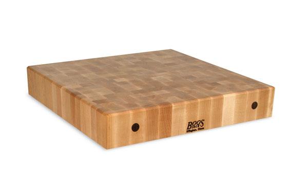John Boos Maple End Grain Chopping Block, 30 x 24 x 4-inch ...