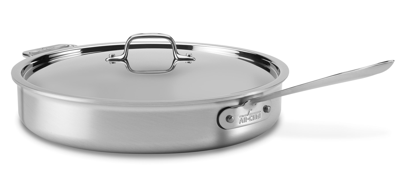All Clad Master Chef 2 Saute Pan 6 Quart Cutlery And More