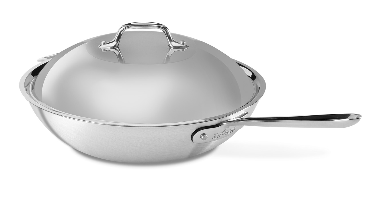 All Clad Master Chef 2 Chef S Pan 4 Quart Cutlery And More
