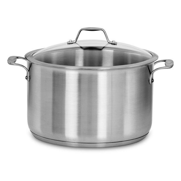 American Kitchen Stainless Steel Stock Pot, 12-quart