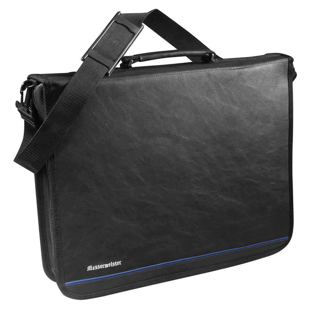 Messermeister Executive Chef S Case 22 Pocket Black