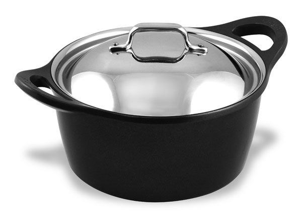All Clad Cast Aluminum Dutch Oven 5 5 Quart Cutlery And