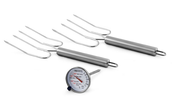 Taylor Meat Thermometer Amp Turkey Lifter Set 3 Piece