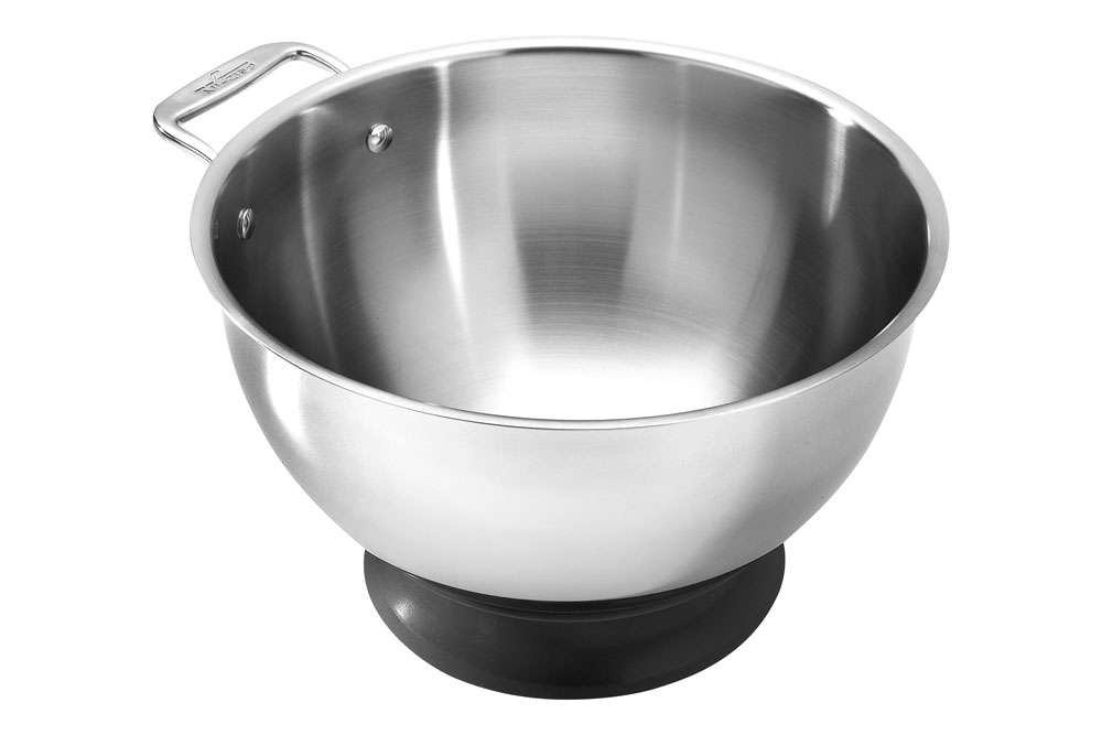 All Clad Spherical Mixing Bowl With Base 5 Quart