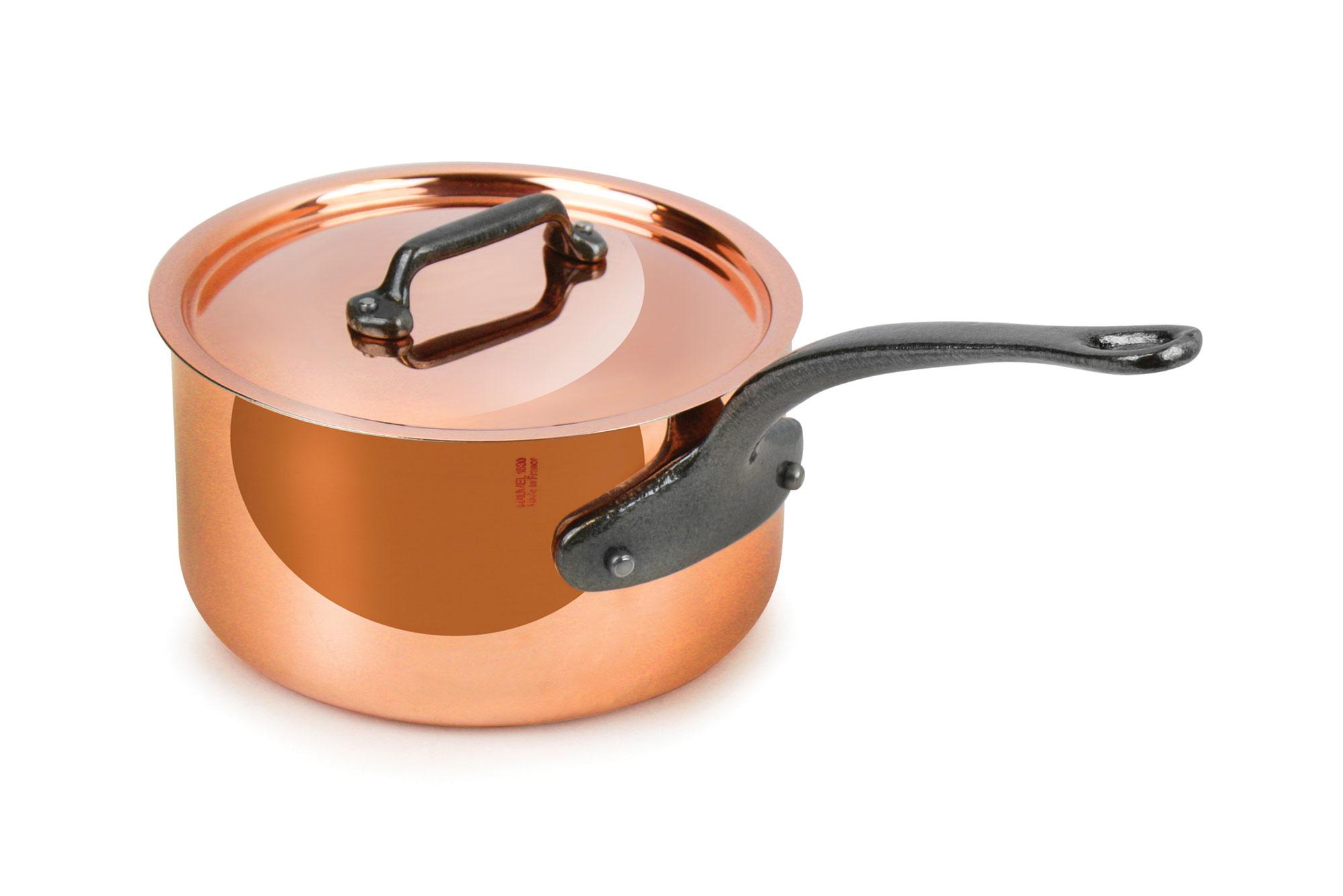 Mauviel M Heritage 150c Copper Saucepan 1 9 Quart