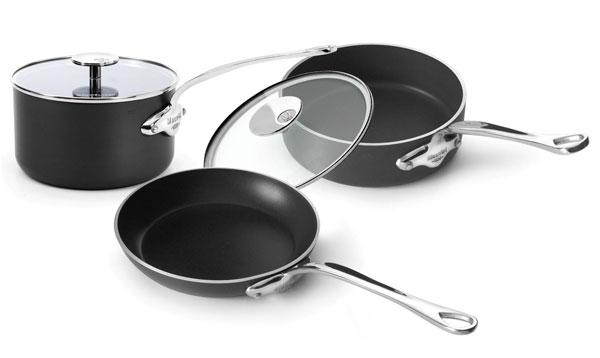 Mauviel M Stone2 Ceramic Nonstick Cookware Set 5 Piece