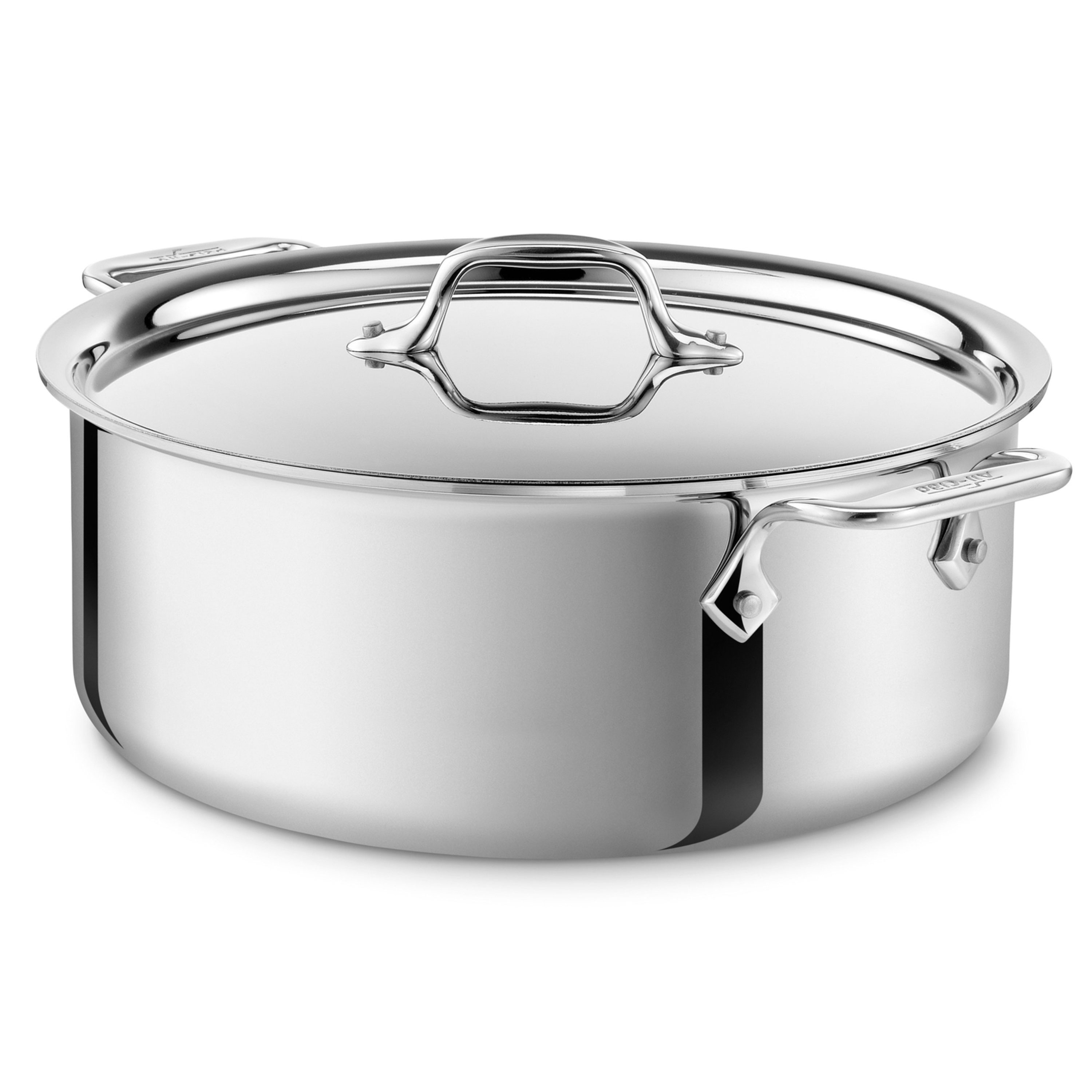 All Clad D3 Stainless Stock Pot 6 Quart Cutlery And More