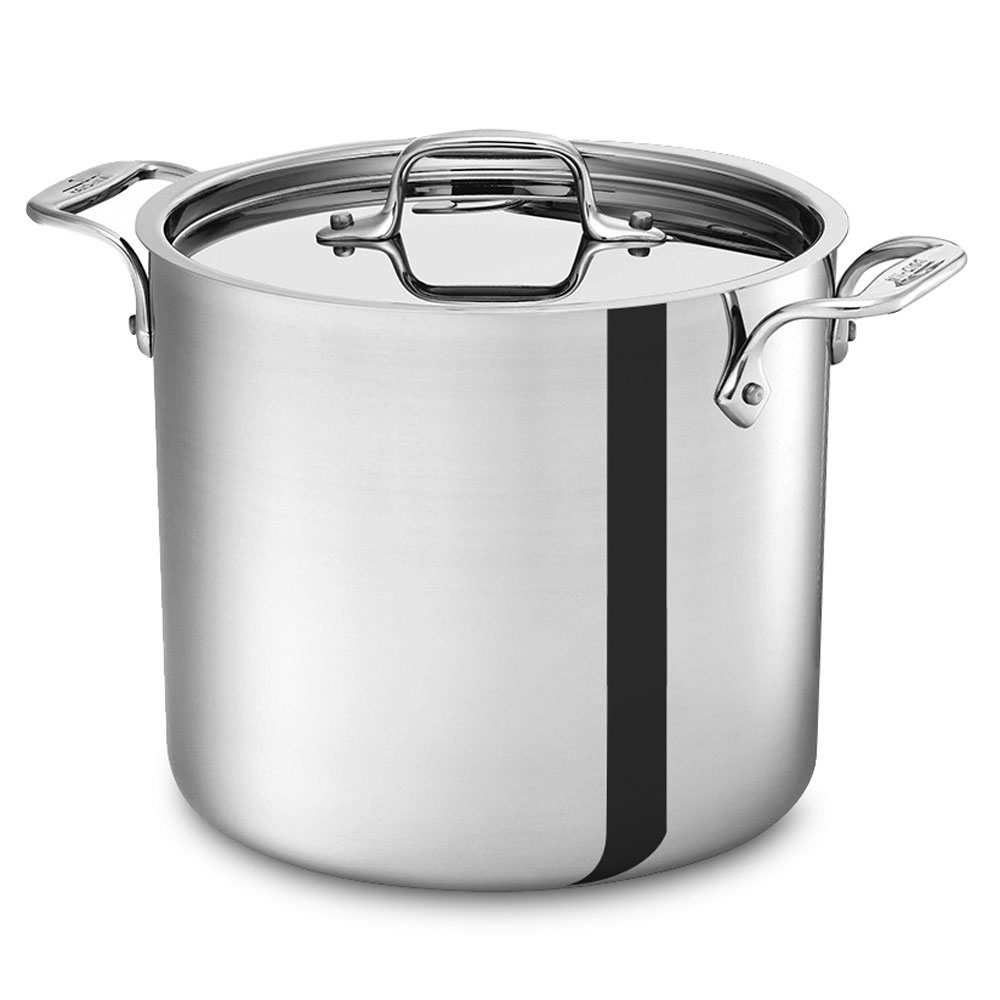 All Clad D3 Stainless Stock Pot 7 Quart Cutlery And More