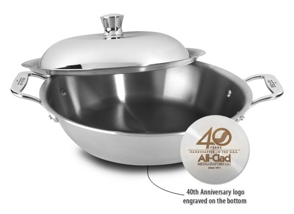 All Clad D3 Stainless Limited Edition 40th Anniversary All