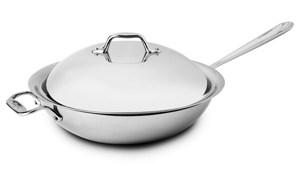 All Clad D3 Stainless Chef S Pan 4 Quart Cutlery And More
