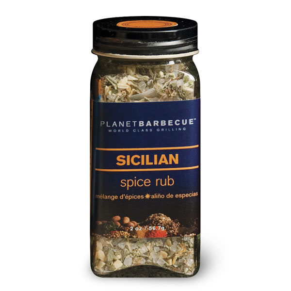 Planet Barbecue Sicilian Spice Rub 2 Ounce Cutlery And More