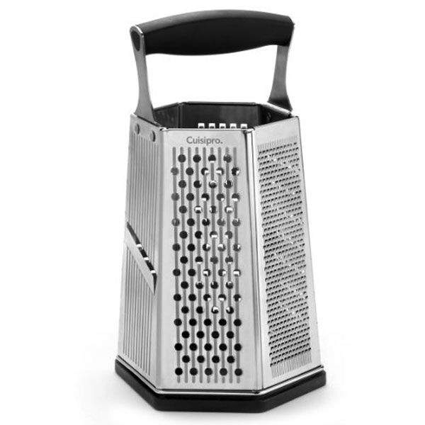 Cuisipro Surface Glide Technology 6 Sided Box Grater