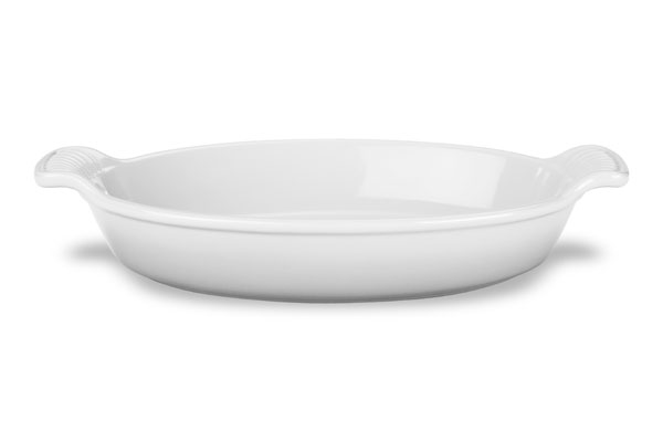 Le Creuset Stoneware Heritage Oval Au Gratin Dish 3 1