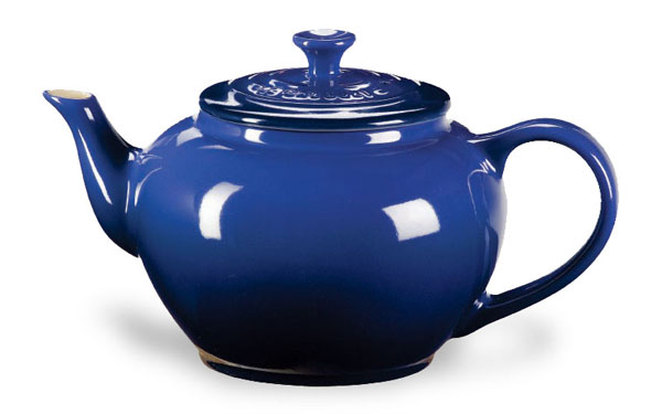 Le Creuset Stoneware Small Teapot With Infuser 22 Ounce