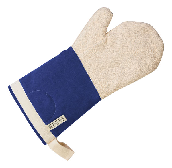 Le Creuset Oven Mitt Cobalt Blue Cutlery And More