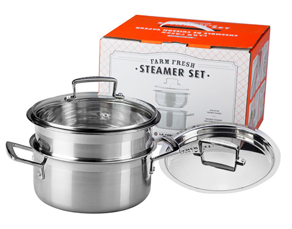 Le Creuset Stainless Steel Multi Pot Steamer Set 3 Piece