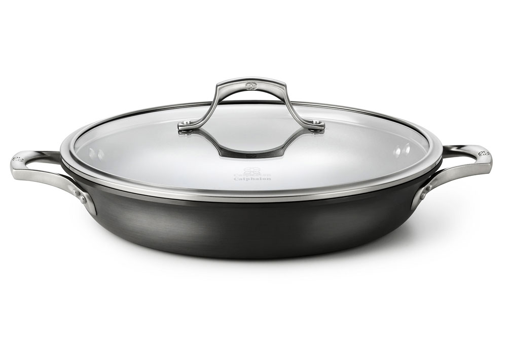Calphalon Unison Sear Nonstick Everyday Braiser Pan 12