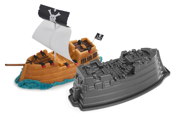 Nordicware Pro Form Bakeware Pirate Ship Cake Pan