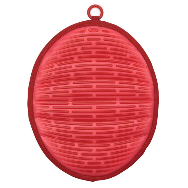 Silicone Pot Holders: Oxo Good Grips Silicone Pot Holder With Magnet, Red
