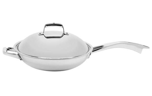 Zwilling J A Henckels Truclad Stir Fry Pan With Lid 13