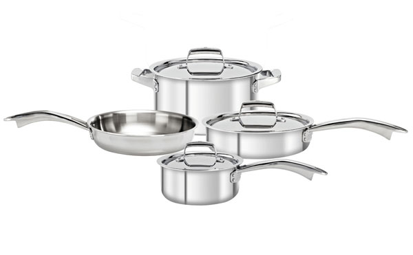 Zwilling J A Henckels Truclad Stainless Steel Cookware
