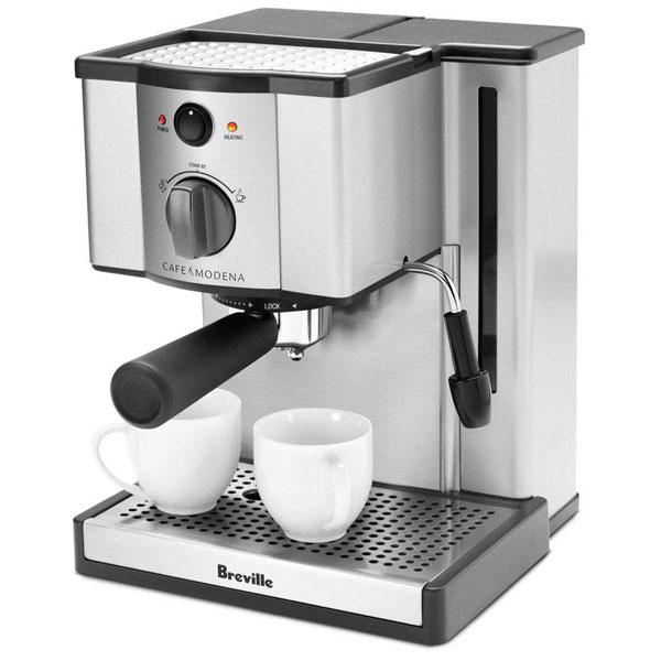 Breville Stainless Steel Cafe Modena Espresso Machine ...