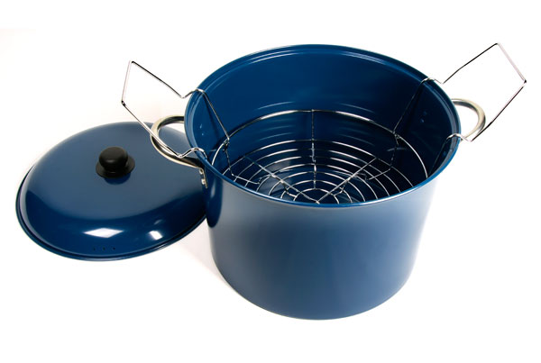 Back To Basics Water Bath Canning Pot With Jar Rack 21 5