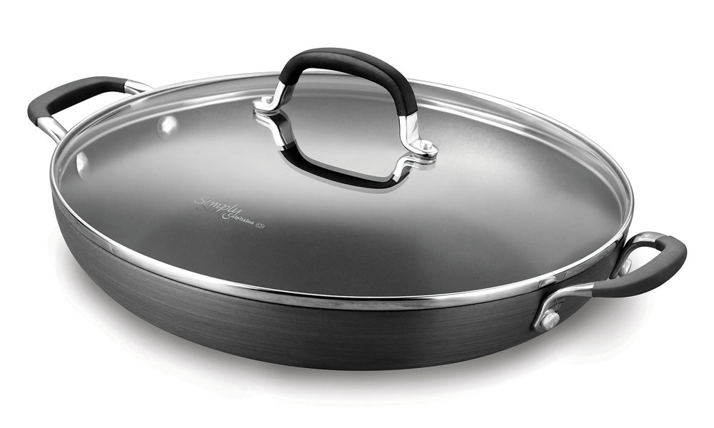 Calphalon Simply Nonstick Braiser Pan 12 Inch Cutlery