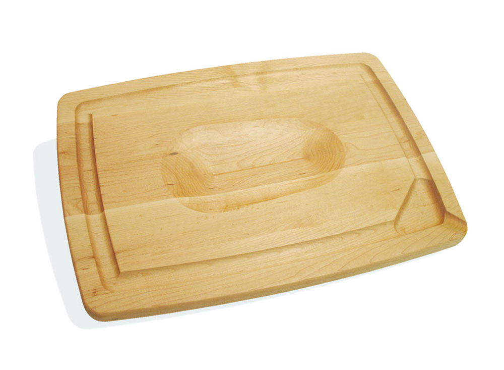 J k adams maple pour spout carving board inch