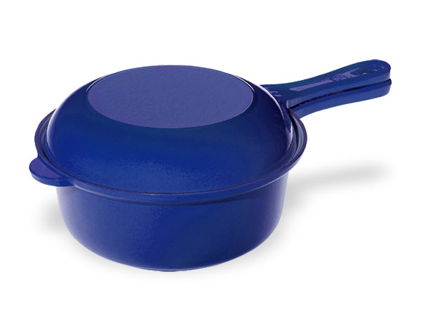 Le Creuset Cast Iron Multi Function Pan 3 75 Quart Cobalt