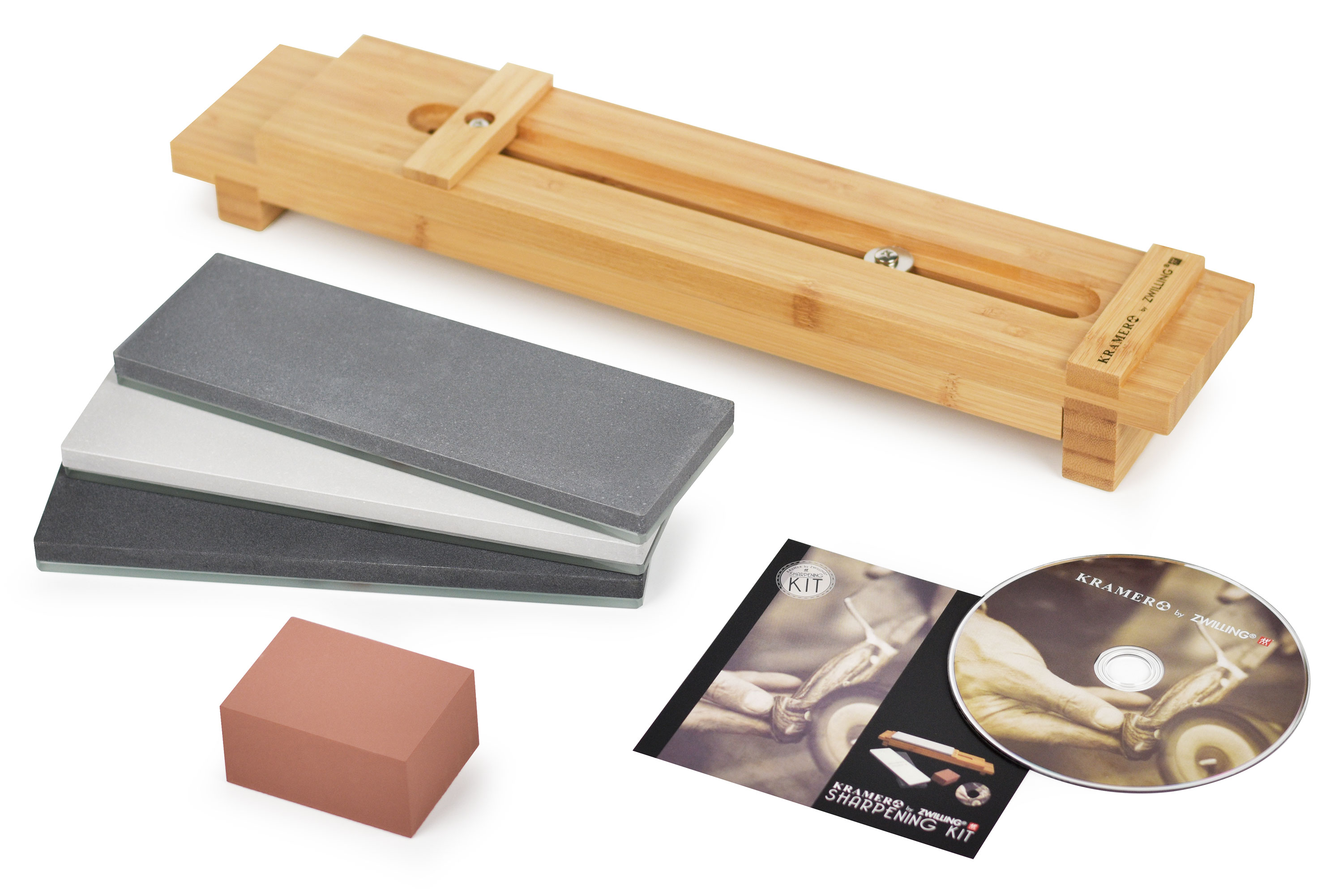 Water Sharpening Stones : Bob kramer sharpening stones kit by zwilling cutlery and