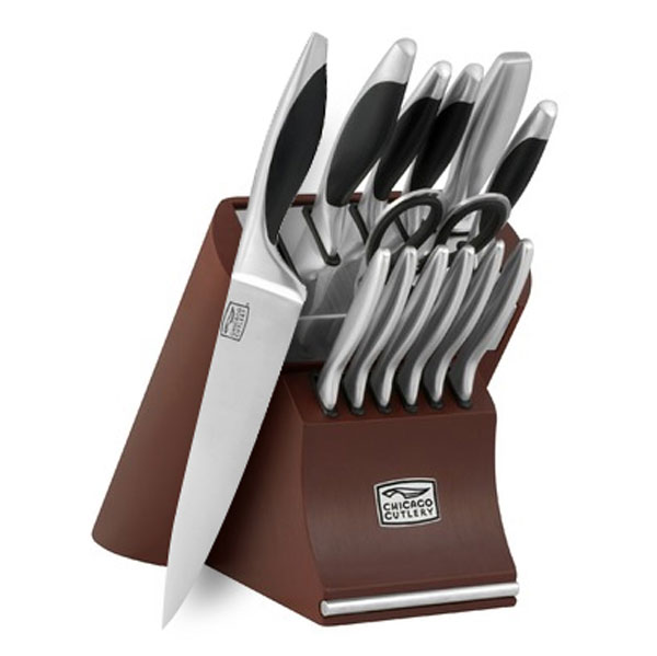 Chicago Cutlery Landmark Knife Block Set 14 Piece