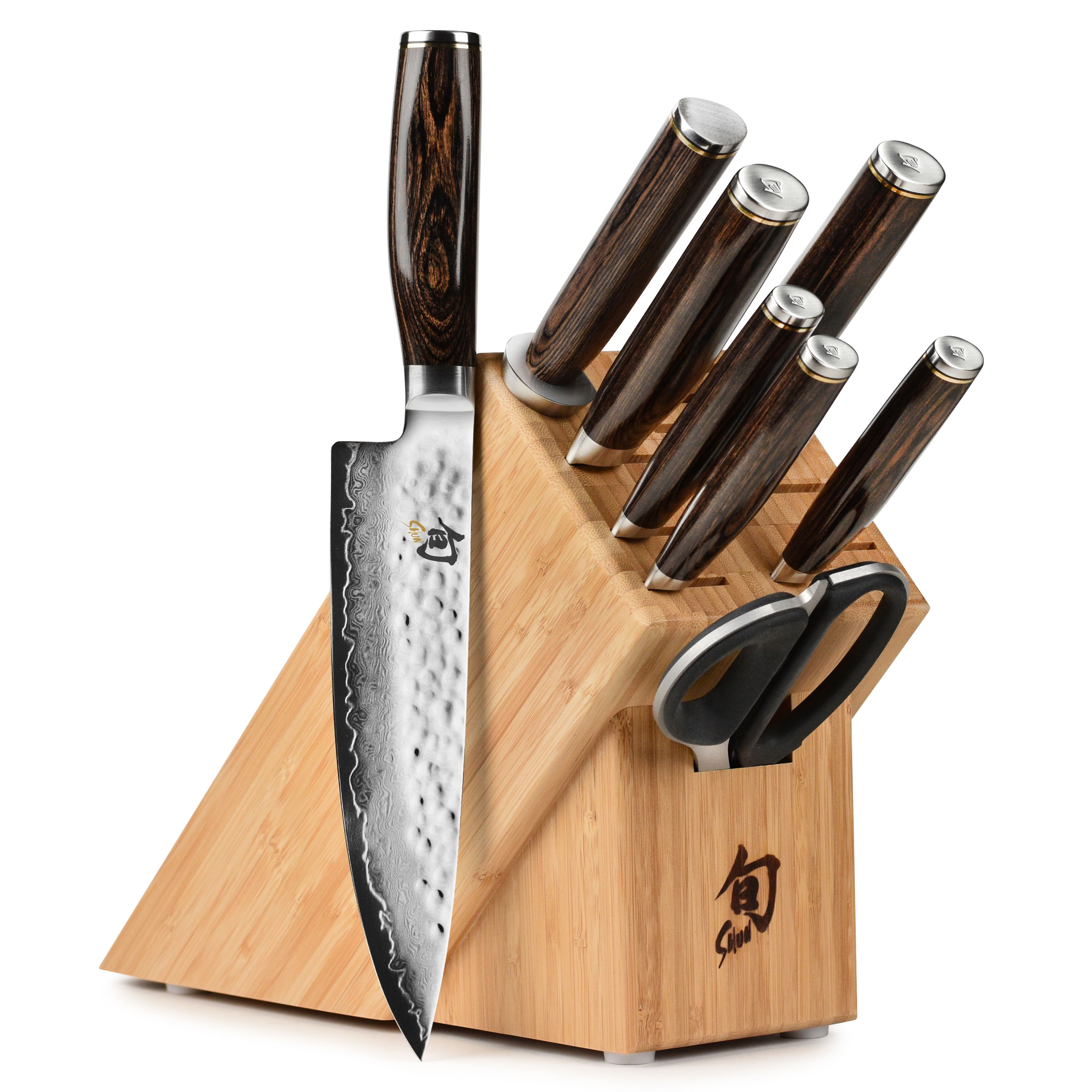 Shun Premier Knife Set 9 Piece With Block Cutlery And More