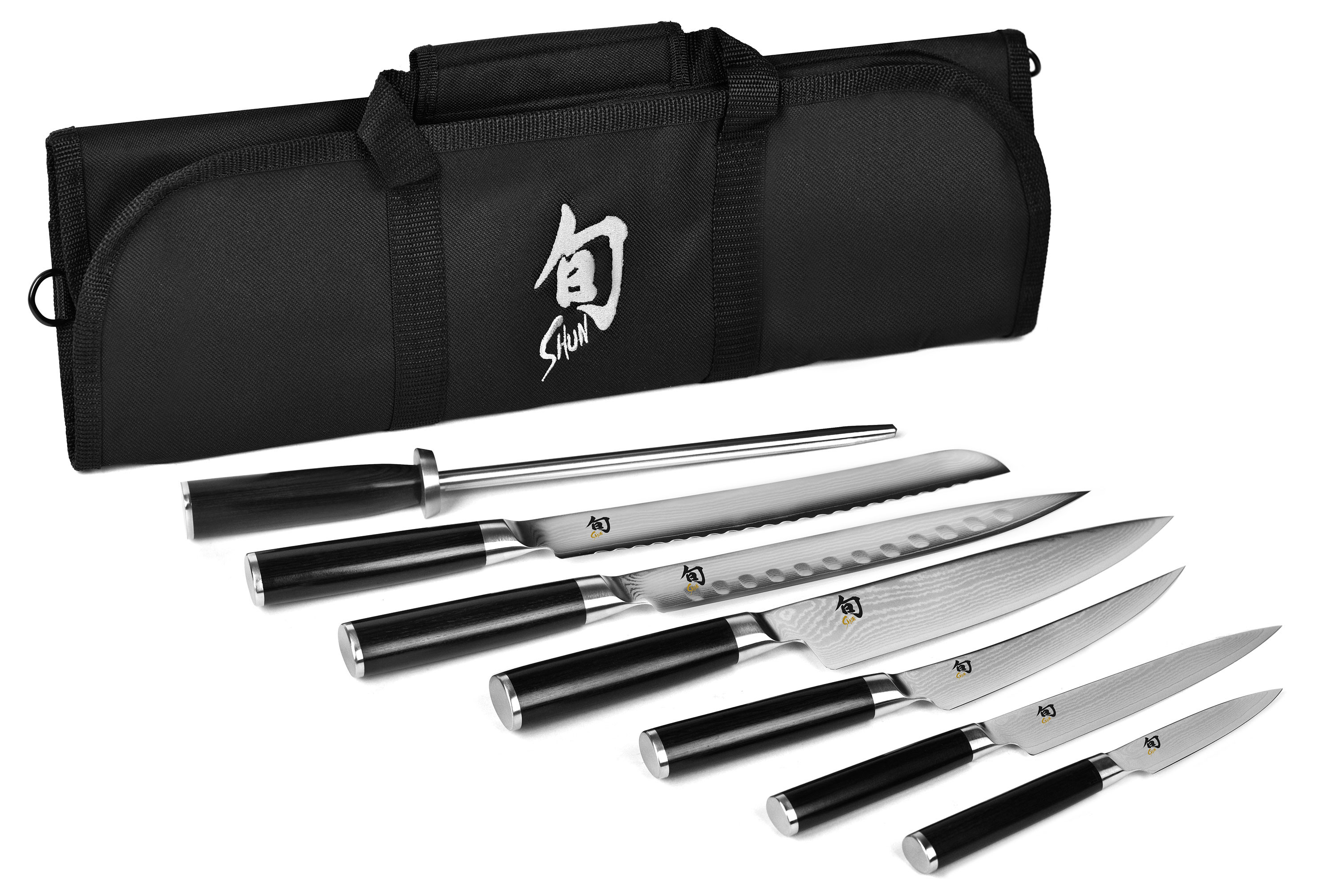 culinary knife sets cutlery and more shun classic knife roll set