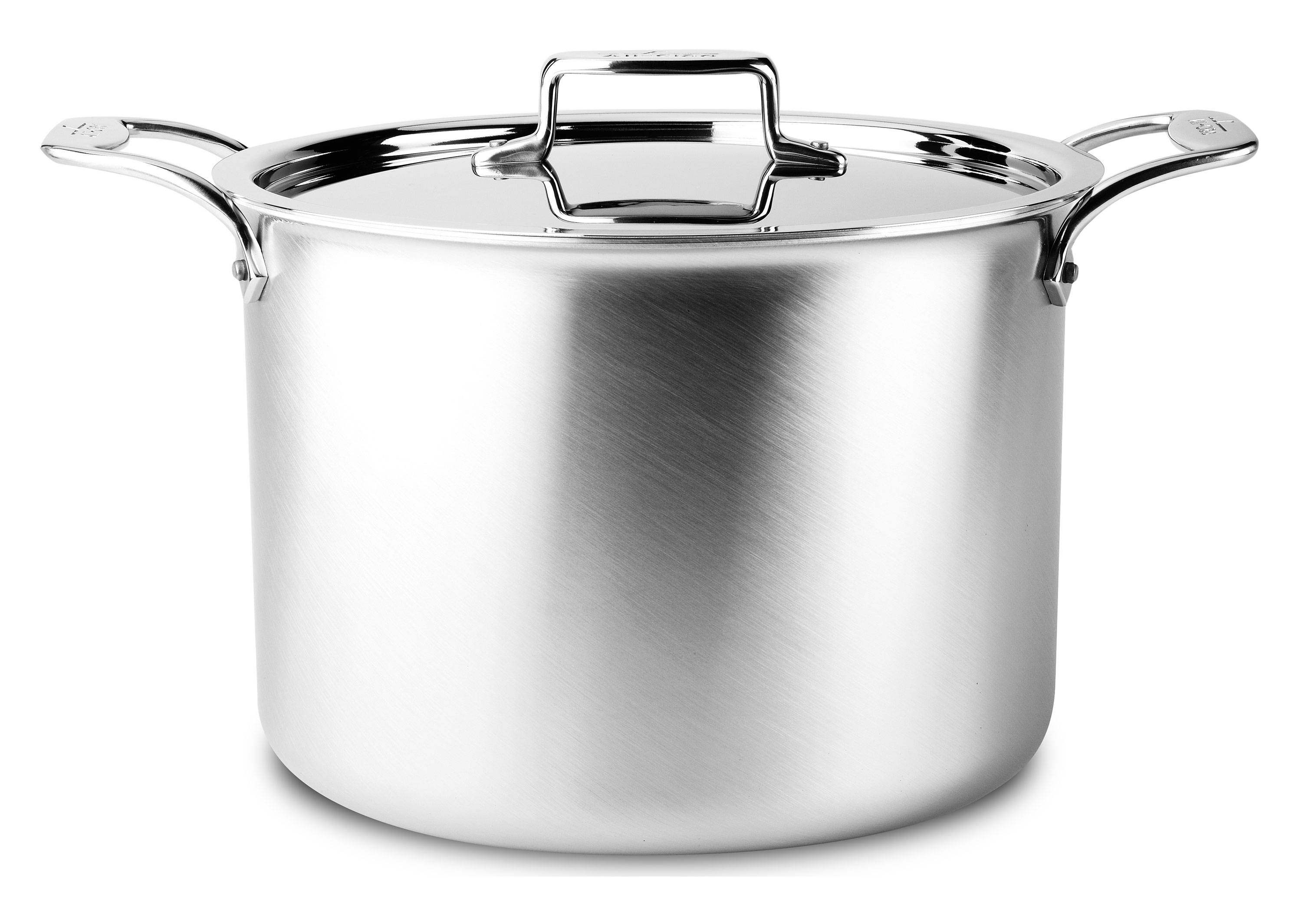 All Clad D5 Brushed Stainless Stock Pot 12 Quart