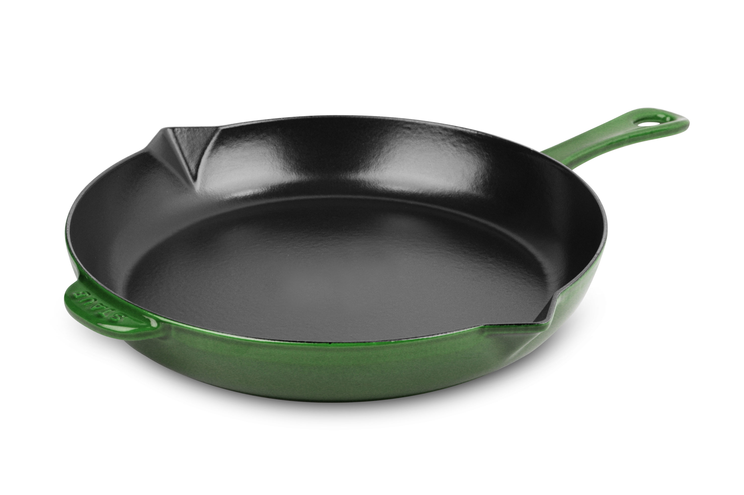 Staub Skillet 10 Basil Cutlery And More Top Rust Inch Skillets