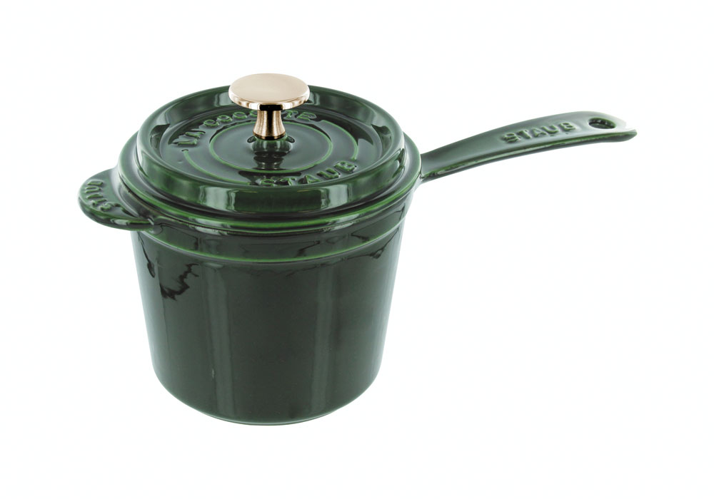 Staub Saucepan 1 25 Quart Basil Cutlery And More