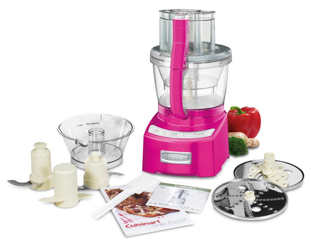Cuisinart Elite Food Processor 12 Cup Metallic Pink