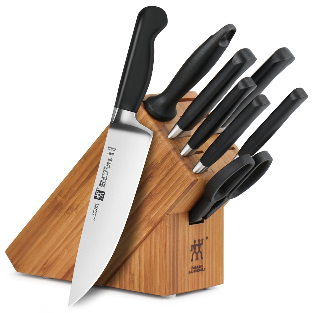 Zwilling J A Henckels Pure Knife Block Set 9 Piece