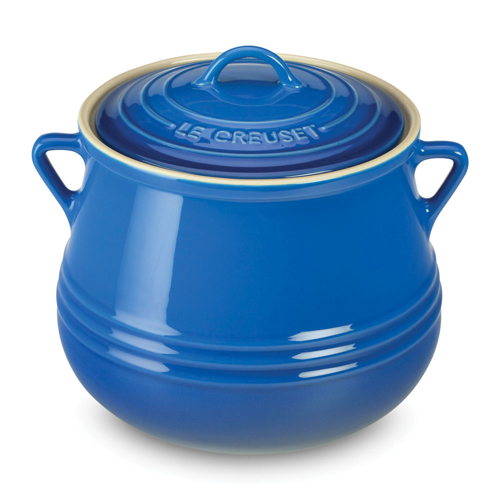 Le Creuset Stoneware Heritage Bean Pot 4 5 Quart
