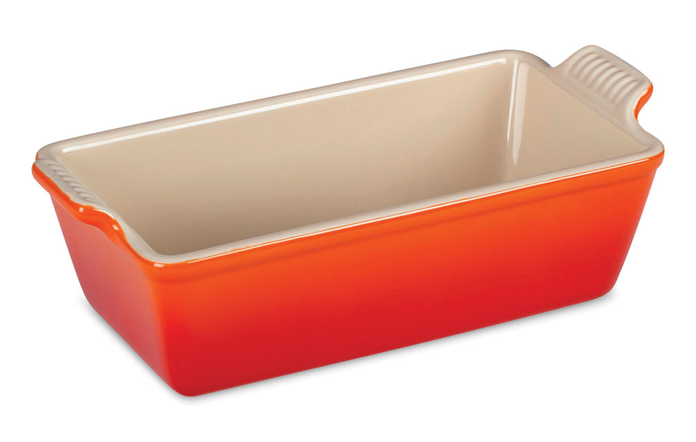 Le Creuset Stoneware Heritage Loaf Pan 9x5x3 Quot Flame