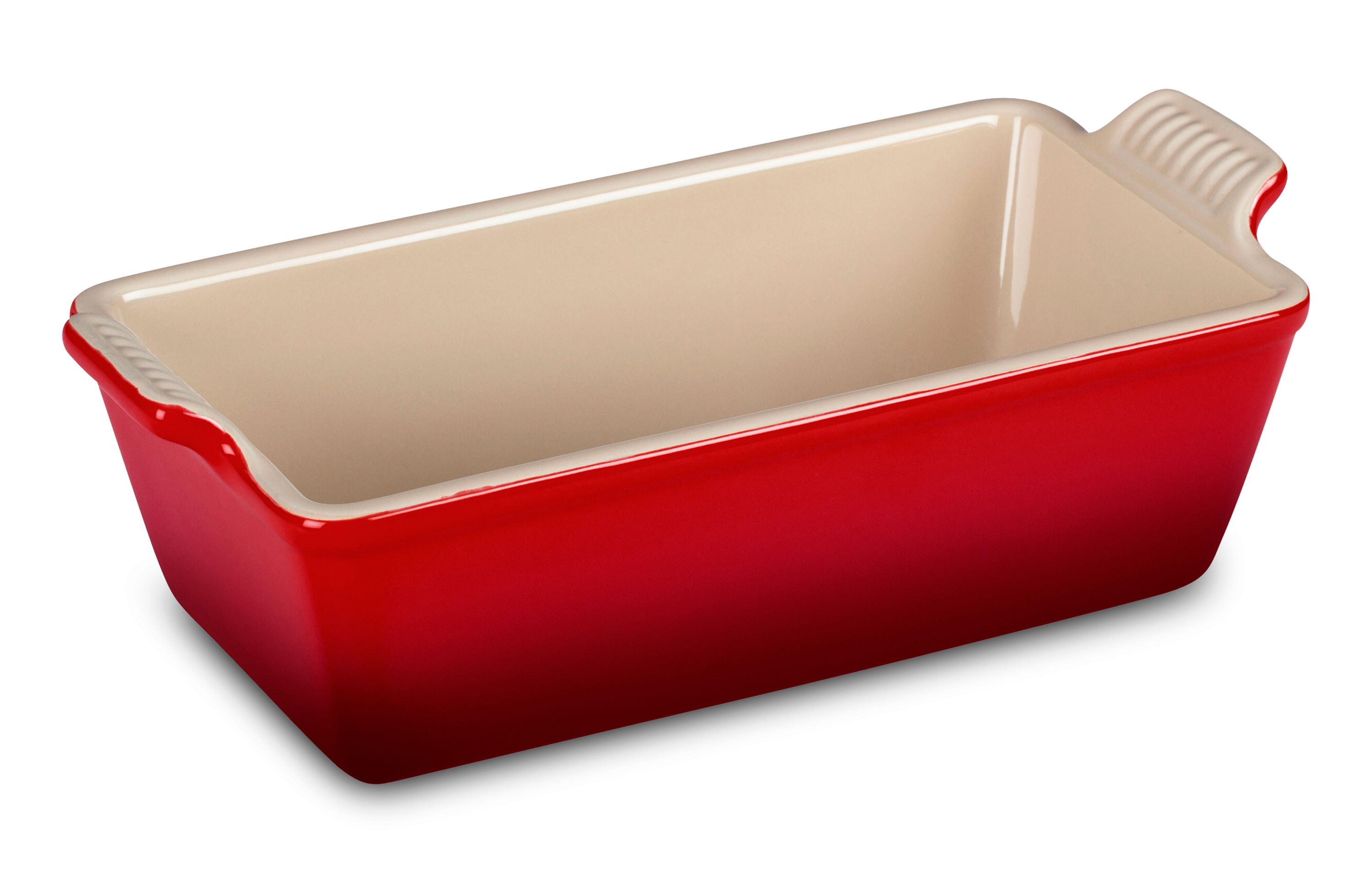 Le Creuset Stoneware Heritage Loaf Pan 9 X 5 X 3 Inch