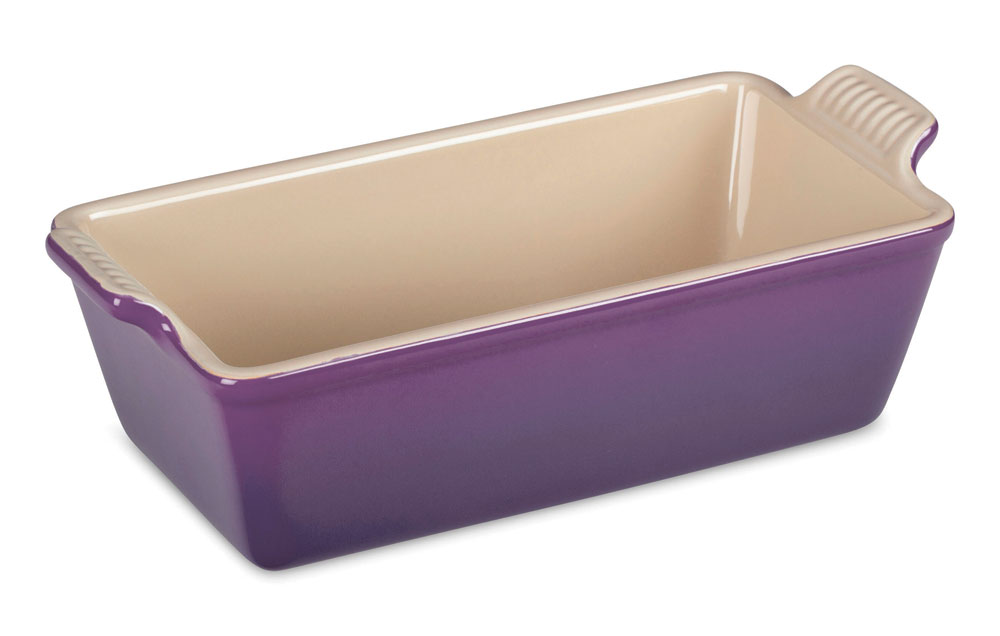 Le Creuset Stoneware Heritage Loaf Pan 9x5x3 Quot Cassis
