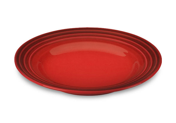 Le Creuset Stoneware Salad Plate 10 Quot Cherry Red